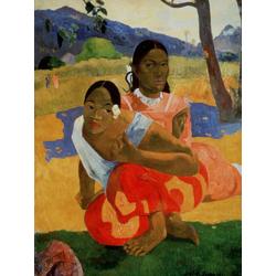 Paul Gauguin | Гоген Поль - Nafea Faa I poipo (Когда ты выйдешь замуж)