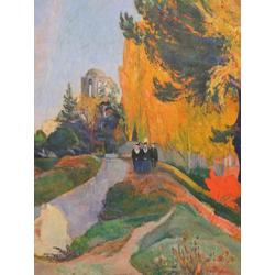 Paul Gauguin | Гоген Поль - Les Alyscamps