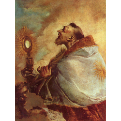 Francesco Guardi   Гварди Франческо - Экстаз святого