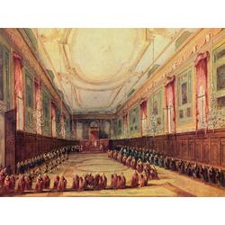 Francesco Guardi   Гварди Франческо - Дож на аудиенции у папы Пия VI