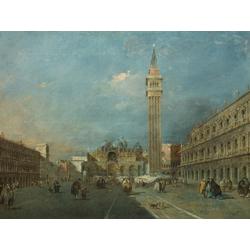Francesco Guardi   Гварди Франческо - Венеция Пьяцца Сан Марко