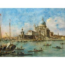 Francesco Guardi   Гварди Франческо - Венеция Пунта делла Догана