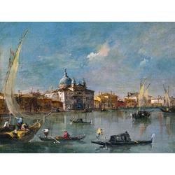 Francesco Guardi   Гварди Франческо - Венеция Джудекка и Зителле