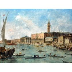 Francesco Guardi   Гварди Франческо - Венеция Дворец Дожей