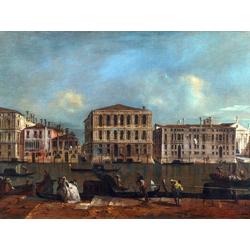 Francesco Guardi   Гварди Франческо - Венеция Гранд Канал и Палаццо Песаро