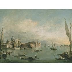 Francesco Guardi - A view of the Bacino di San Marco   Гварди Франческо