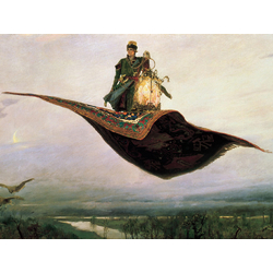 Васнецов Виктор - Ковёр самолёт, 1880