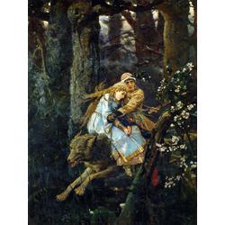 Васнецов Виктор - Иван Царевич на сером волке, 1889