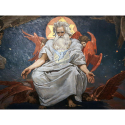Васнецов Виктор - Бог Саваоф