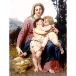 Bouguereau William | Бугеро Вильям - Святое семейство