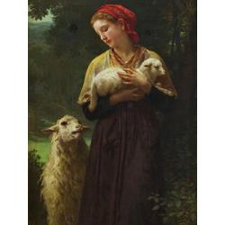 Bouguereau William | Бугеро Вильям - Пастушка