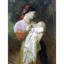Bouguereau William | Бугеро Вильям - Материнское восхищение