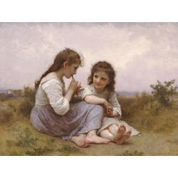 Bouguereau William | Бугеро Вильям - Идиллия детства