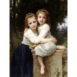 Bouguereau William | Бугеро Вильям - Две сестры