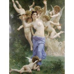 Bouguereau William | Бугеро Вильям - Гнездо купидонов