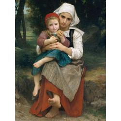 Bouguereau William | Бугеро Вильям - Брат с сестрой