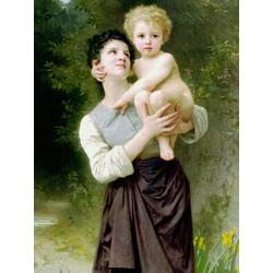 Bouguereau William | Бугеро Вильям - Брат и сестра