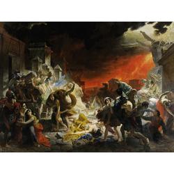 Karl Bryullov | Брюллов Карл - Последний день Помпеи, 1833