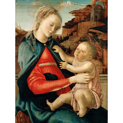 Sandro Botticelli - The Virgin and Child, 1465   Сандро Боттичелли