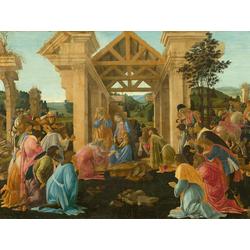 Sandro Botticelli   Сандро Боттичелли - Поклонение волхвов