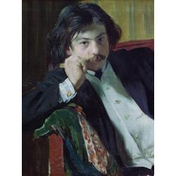 Кустодиев Борис Михайлович - Портрет Я.И.Лаврина