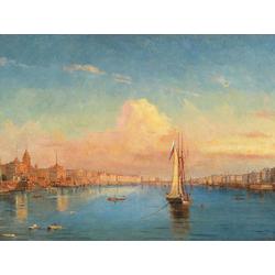Боголюбов Алексей - Санкт Петербург на закате