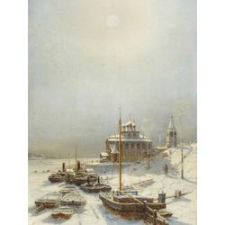 Боголюбов Алексей - Зима в Борисоглебске