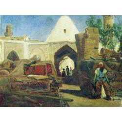 Боголюбов Алексей - Армянский Караван сарай, 1861