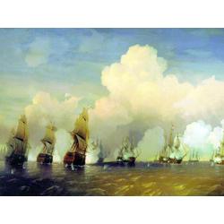 Боголюбов Алексей - Русско-шведская морская война под Кронштадтом в 1790