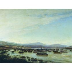 Боголюбов Алексей - Российская армия форсирует Дунай в июне 1877, 1878