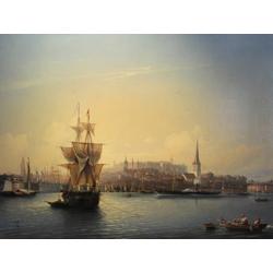 Боголюбов Алексей - Таллиннский порт, 1853