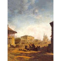 Алексеев Фёдор Яковлевич - Вид города Николаева. Между 1797 и 1800