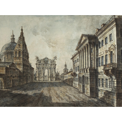 Алексеев Фёдор Яковлевич - Страстная площадь