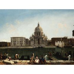Алексеев Фёдор Яковлевич - Большой канал в Венеции. Вид на церковь Санта Мария делла Салюте