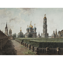 Алексеев Фёдор Яковлевич - Вид на Успенский собор