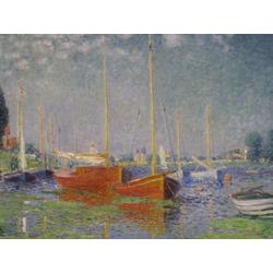 Monet Claude | Клод Моне | Красные лодки, Аржантей