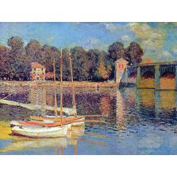 Monet Claude | Клод Моне | Мост в Аржантее