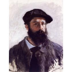 Monet Claude | Клод Моне | Self Portrait with a Beret