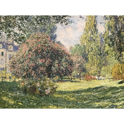 Monet Claude | Клод Моне | The Parc Monceau