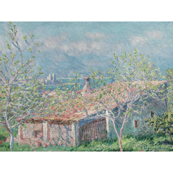 Monet Claude | Клод Моне | Gardeners House at Antibes