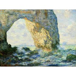 Monet Claude | Клод Моне | Клод Моне - Арка на запад от Этрета
