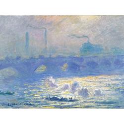 Monet Claude | Клод Моне | Waterloo Bridge