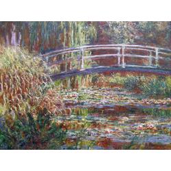 Monet Claude | Клод Моне | The Japanese Bridge