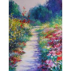 Monet Claude | Клод Моне | Garden at Giverny