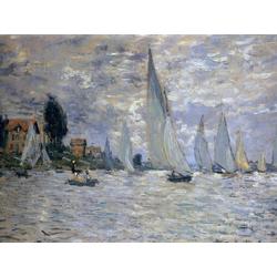 Monet Claude | Клод Моне | Регата в Аржантее