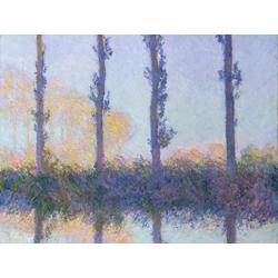 Monet Claude | Клод Моне | The Four Trees