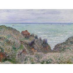 Monet Claude | Клод Моне | Cabin of the Customs Watch