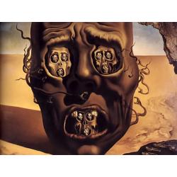 Salvador Dali | Сальвадор Дали | Лицо войны
