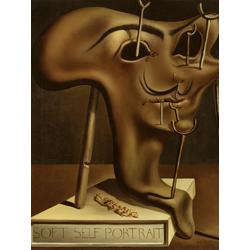 Salvador Dali | Сальвадор Дали | Мягкий автопортрет с жареным беконом