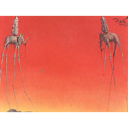Salvador Dali | Сальвадор Дали | Слоны